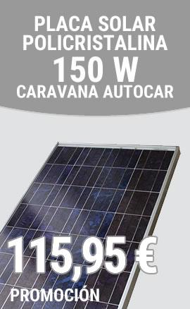 Sevilla Motor Home - Promoción Placa Solar 150 W