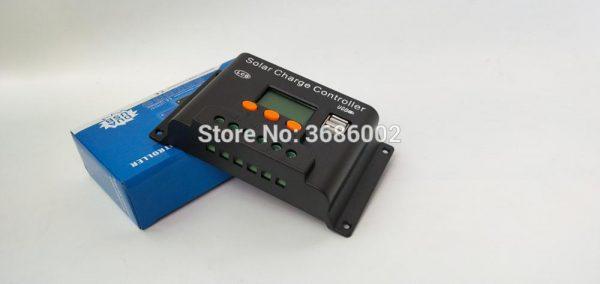 Controlador de carga Solar con doble USB 5 V Solar