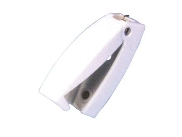 Tope / retenedor de puerta blanco