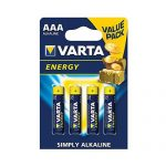 Pila AAA Alkalina varta blister 4 UDS