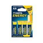 Pila AA alkalina varta blister 4 UDS