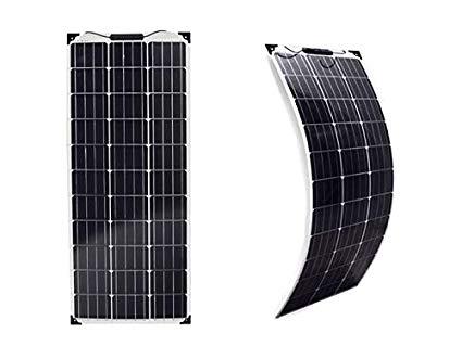 Placa solar flexible de 100 W  caravana autocarava