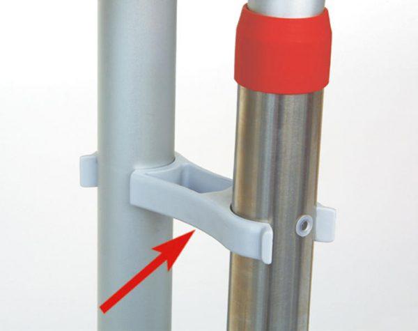 Fijación de seguridad Soporte para rack