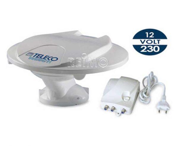Antena DVBT Wing 11 para 12/24 y 230 Voltios