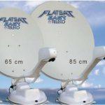 Antena satelite Flat Sat Teleco 85   Autocaravana