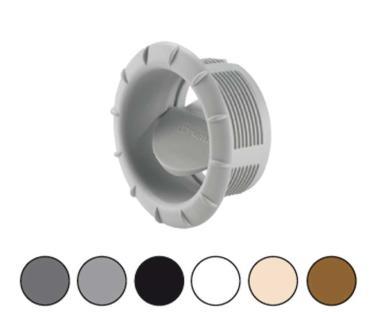 Salida orientable calefaccion truma beig