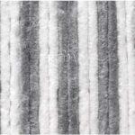 Cortina 120x185cm, gris/blanco para Camper