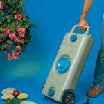 Deposito agua con asa y ruedas 35 Lt