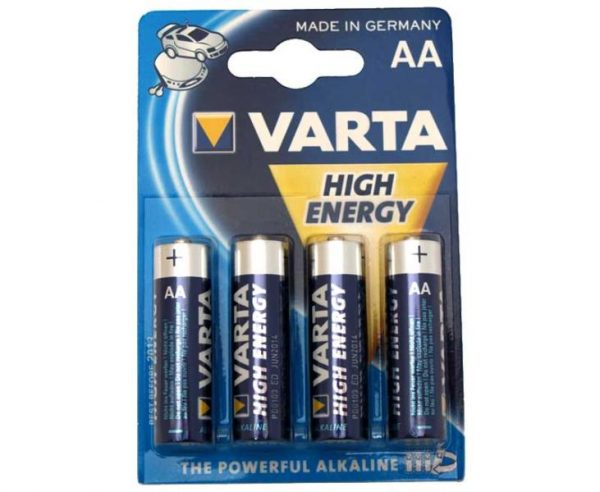 Pila High Energy AA , Blister 4 uds