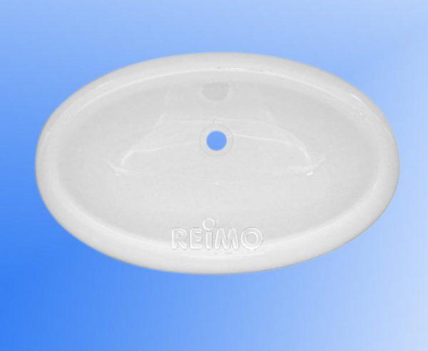 Lavabo oval 450 x 275mm, blanco