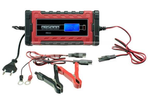 Cargador y mantenedor inteligente de baterias