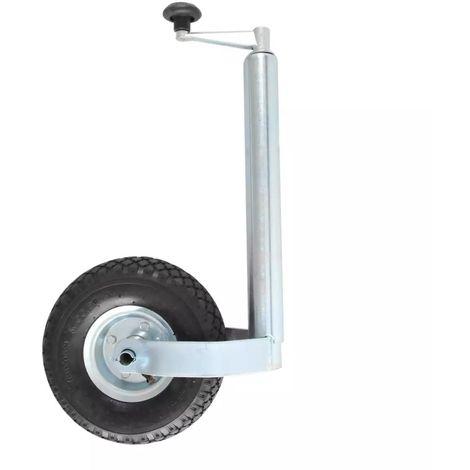 Conjunto rueda Jockey Neumatica