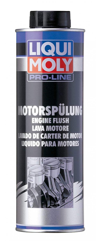 Limpieza interior del motor
