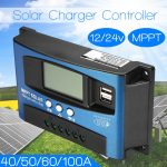 Regulador Placa solar tipo MPPT 40 AH