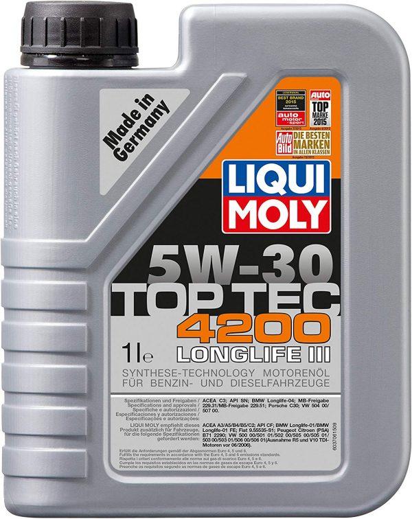 Aceite de Motor, Top Tec, 4200, 5W-30, BOOKLET, 1