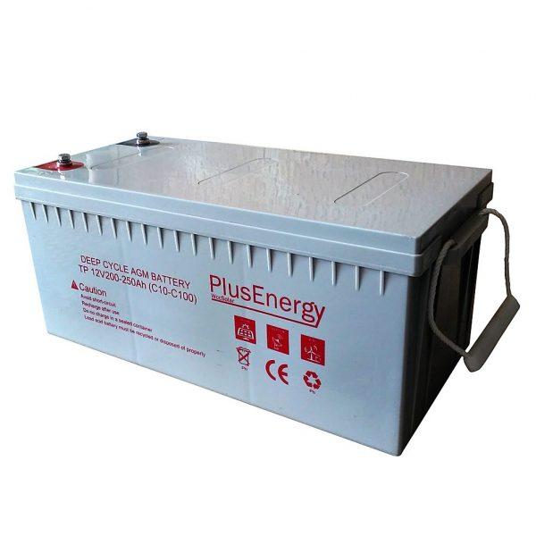Bateria AGM 200 AH  12V