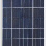 Placa solar policristalina 160 W caravana autocara