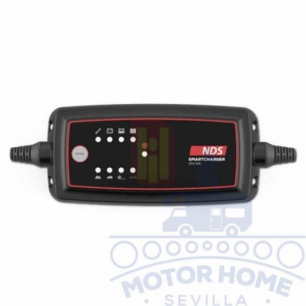 Cargador de baterías Smartcharger 12V 4Ah